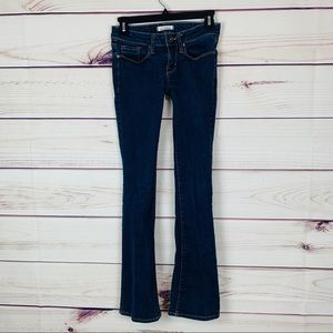 Bullhead slim boot cut jeans size 1 regular